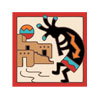 Tile Coaster - Kokopelli