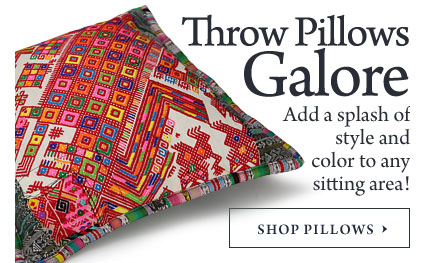Throw Pillows - Huipil