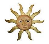 Medium Carved Sun