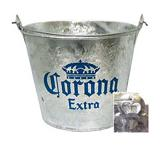Corona Extra Metal Beer Bucket