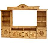 Rustic Pine Entertainment Centers And Mexican Rustic