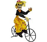 Catrina on Bicycle