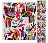 Flora & Fauna Otomi Table Runner
