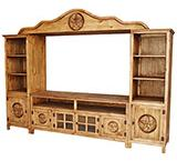 Alamo Star 4-Piece Entertainment Center