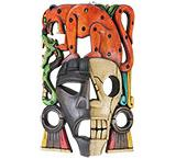 Mayan Mask: Jaguar Headdress