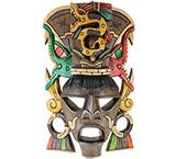 Mayan Mask: Serpent Headdress