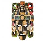 Mayan Mask: Pyramid Headdress