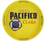 Pacifico Clara Metal Serving Tray