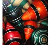 Wooden Tops Oil Painting on Canvas