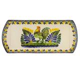 Large Majolica Snack Tray