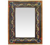 Painted Gold Vine Mirror