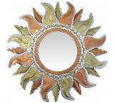 Flaming Sun Mirror