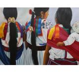 La Amistad Oil Painting on Canvas