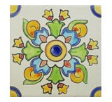 Sello Italiano Matte Finish Talavera Tile