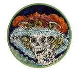 Small Day of the Dead Plate
