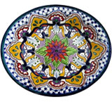 Deep Talavera Platter /  Serving Dish