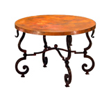 Round Tuscany End Table