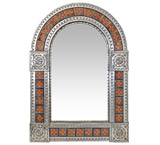 Arched Tile Mirror