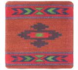 Wool Throw Pillow: Zapotec Design AL1