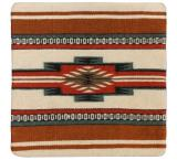 Wool Throw Pillow: Zapotec Design PV5