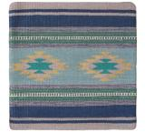 Wool Throw Pillow: Zapotec Design PRL3T