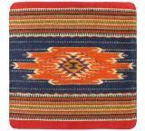 Wool Throw Pillow: Zapotec Design FS4