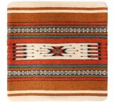 Wool Throw Pillow: Zapotec Design PV4