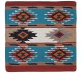 Wool Throw Pillow: Southwest Design EPP04