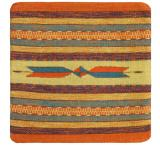 Wool Throw Pillow: Zapotec Design IP2