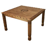 Square Texana 9-Star Dining Table