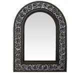 Arched Rose Mirror