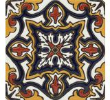 Diamante Michoacana Talavera Relief Tile