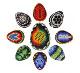 Huichol Egg Ornaments