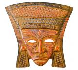 Clay Mask: Mayan King