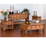 Rustic Oak Table Set