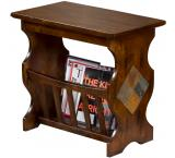 Santa Fe Magazine Table w/ Slate
