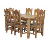 Julio Dining Set w/ Santana Chairs