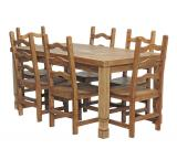 Julio Dining Set w/ Colonial Chairs