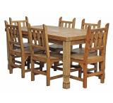Julio Dining Set w/ New Mexico Chairs
