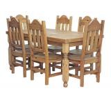 Lyon Dining Set w/ Santana Chairs
