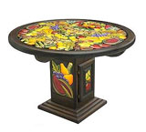 Round Fruit Dining Table