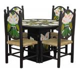 Calla Lily Dining Set