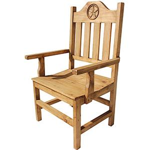 Lone Star Arm Chair