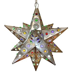 Ixtapa Star w/Marbles:Natural Finish