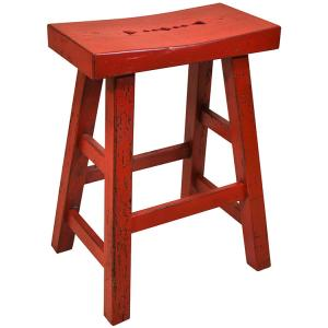 Taos Saddle Stool