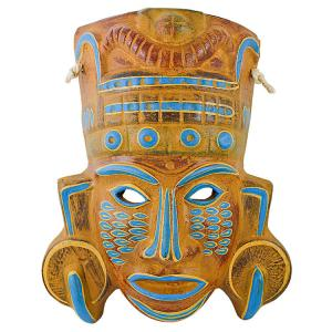 Clay Mask: Mayan Priest