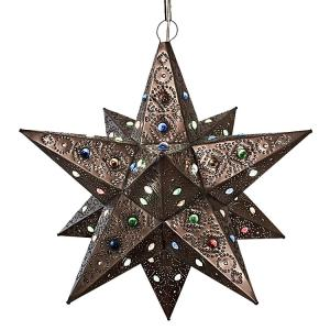 Colorado Star w/Marbles:Oxidized Finish