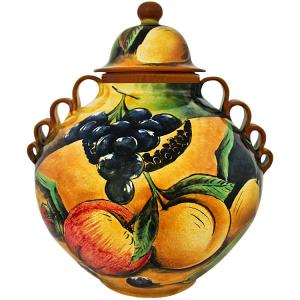 Assorted FruitSmall Ginger Jar