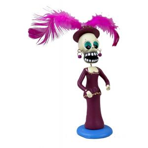 Catrina in Purple Dress