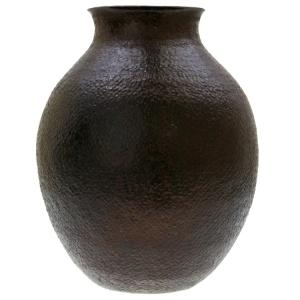 Opopeo Copper Vase: Chocolate Finish